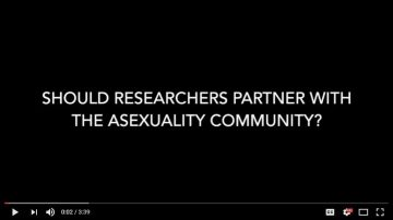 Should researchers partner with the asexuality community?
