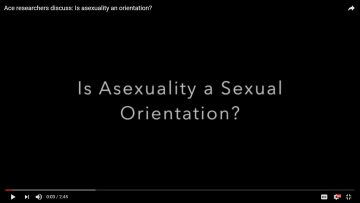 Is asexuality a sexual orientation?
