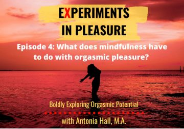 Experiments in Pleasure Podcast, Episode 4: What does mindfulness have to do with orgasmic pleasure? with Dr. Lori Brotto