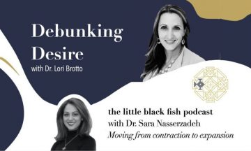 Debunking Desire with Dr. Lori Brotto – The Little Black Fish Podcast